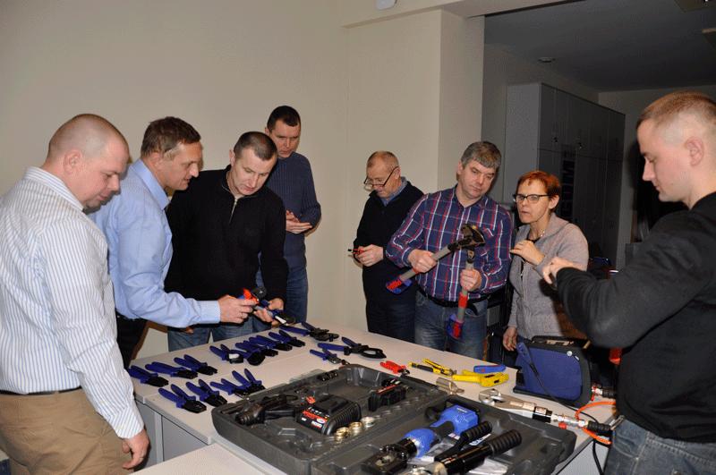 Szkolenie w Ergom dla Acel i Eltech w 2016