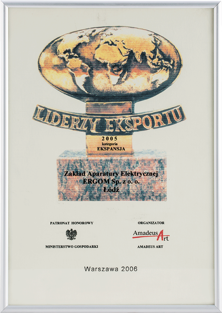 Liderzy Eksportu 2006