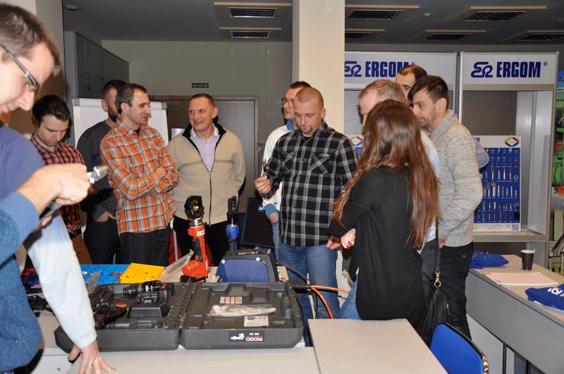 Szkolenie w firmie Ergom dla ElektroOmega w 2016 roku